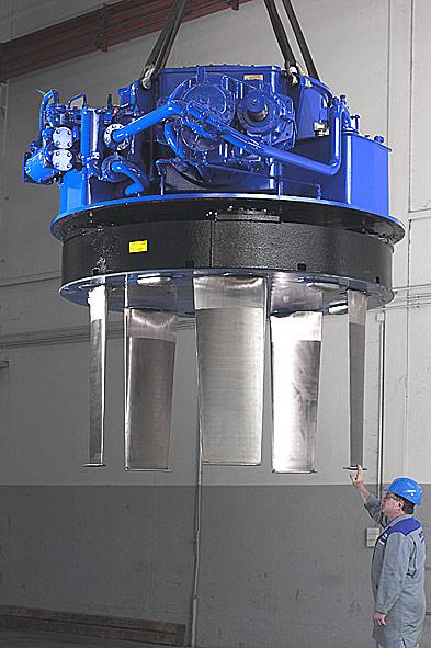 File:Voith schneider propeller jpg - MarineWiki